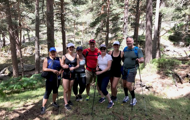 Nordic Walking in madrid. Hiking in Madrid. Hikes in Madrid with Dreampeaks. Guided hiking tours in Madrid