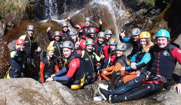 Canyoning in Madrid. Outdoor Adventure in Madrid with Dreampeaks.