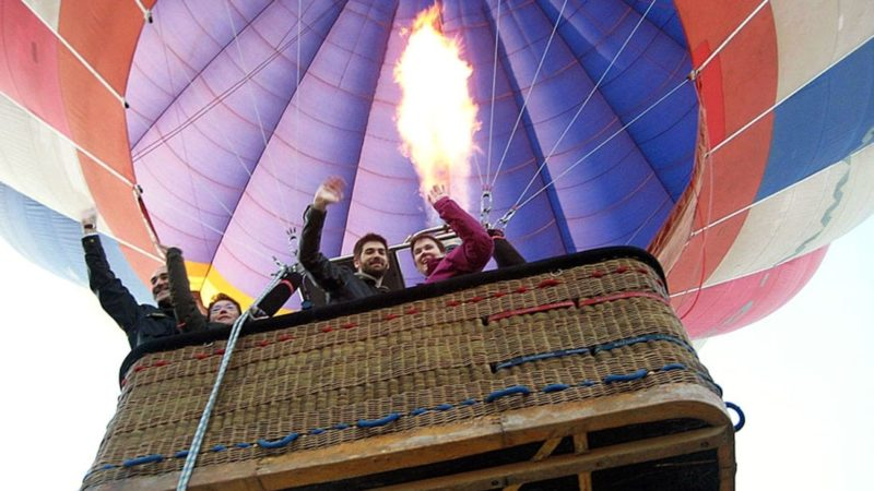 Balloon Flight in Madrid. Adventure tours and Outdoor Experiences in Madrid with Dreampeaks