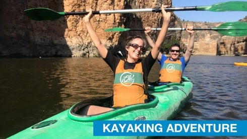 kayaking in Madrid. Kayaking in Segovia. Outdoor Adventures in Madrid.