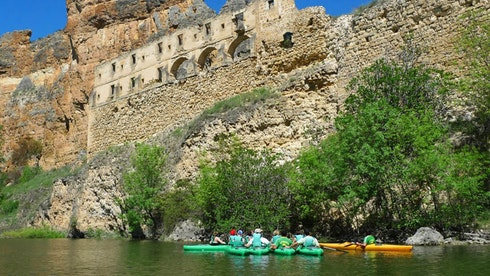Kayaking in Madrid with DreaMpeaks