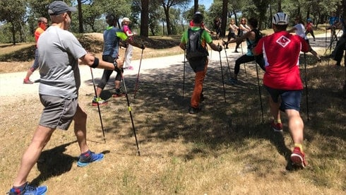 Nordic Walking in Madrid. Nordic Walking Tours with Dreampeaks