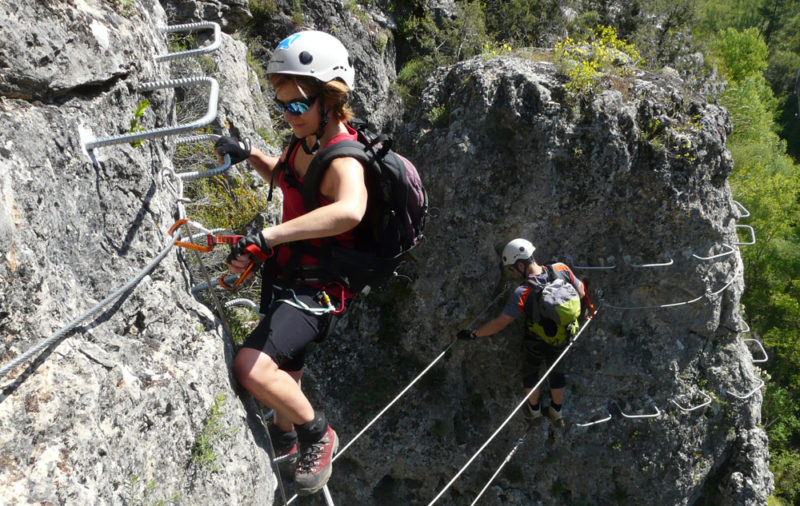 Via Ferrata in Cuenca with Dreampeaks Via Ferrata in Madrid.