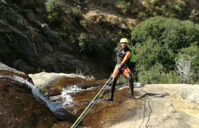 Canyoning in Madrid with Dreampeaks