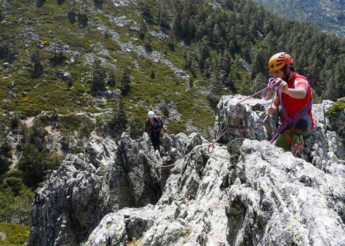 Scrambling in Madrid. Climbing in Madrid with Dreampeaks.