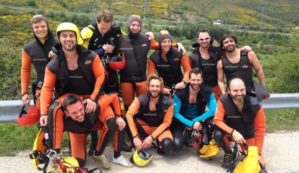 Canyoning in Madrid. Adventure in Madrid.