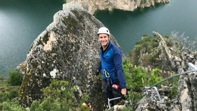 Via Ferrata in Madrid with Dreampeaks. Adventure in Madrid.