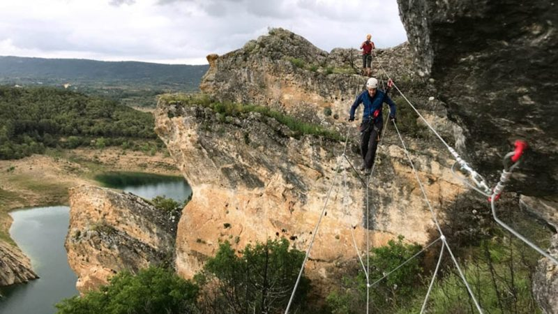Via Ferrata in Madrid with Dreampeaks