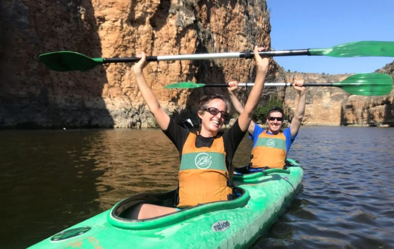 Kayaking in Segovia with Dreampeaks. Kayak madrid