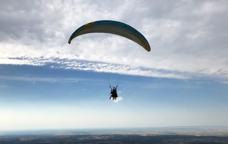 Paragliding in Madrid with Dreampeaks. Paragliding in Spain