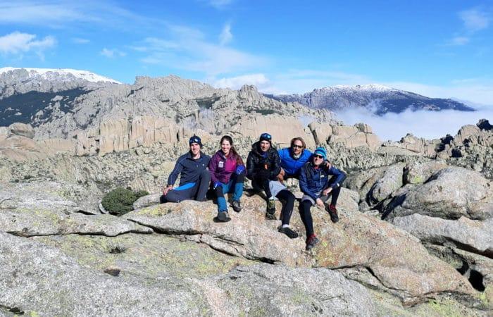 Hiking and Rock Climbing in La Pedriza with Dreampeaks. Rock climbing in Madrid.