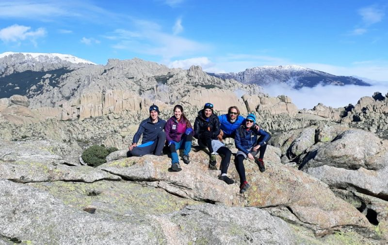 Hiking and Rock Climbing in La Pedriza with Dreampeaks. Rock climbing in Madrid.