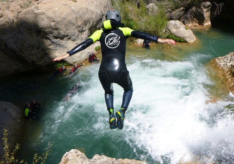 Canyoning in Madrid with Dreampeaks. Adventure Activities in Madrid.