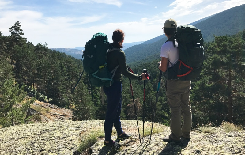 Hiking in Madrid. Adventure Outdoor Activities in Madrid with Dreampeaks.
