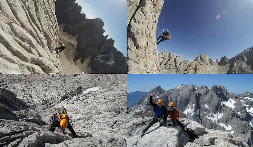 Climbing in Picos de Europa with Dreampeaks