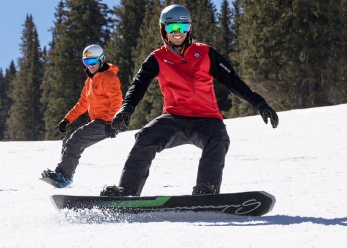 Snowboarding in Madrid with Dreampeaks.